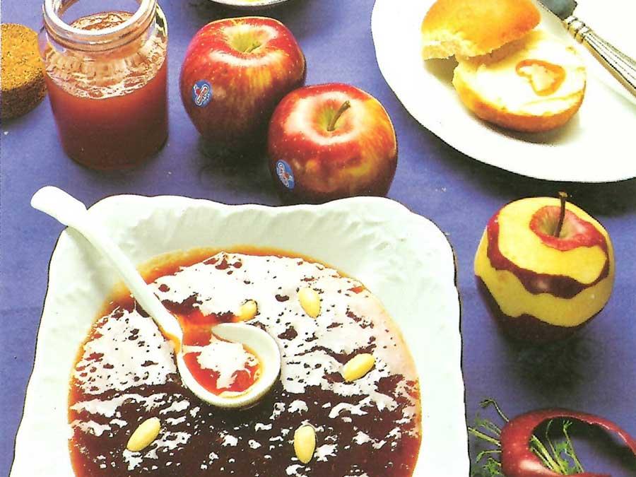 Κρασάτη μαρμελάδα μήλο