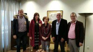Συνάντηση αντιπροσωπείας με την Άννα Ψαρούδα Μπενάκη