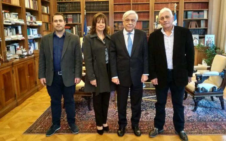 Ο Α.Σ. Ζαγοράς Πηλίου στον Πρόεδρο της Ελληνικής Δημοκρατίας