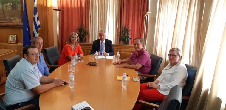 Συνάντηση συνεργασίας με τον Υπουργό Αγροτικής Ανάπτυξης κο. Μάκη Βορίδη